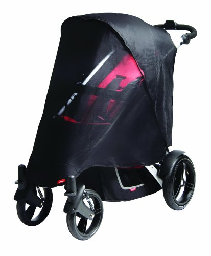 Phil&Teds Uv Mesh Cover For Vibe, Vibe 2 Or Verve Double Stroller - 1