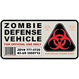Zombie Defense Vehicle (Bumper Sticker)