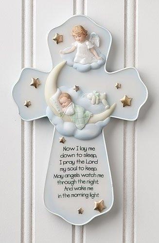 Roman Guardian Angel Sweet Dreams Baby Cross (62124)
