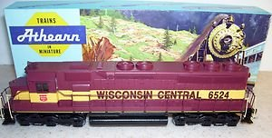 Athearn HO 4174: EMD SD45 Powered Wisconsin Central #6583 Diesel Locomotive
