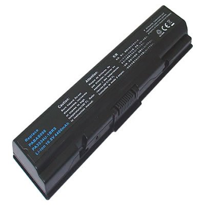 PELTEC@ Premium - Batteria per notebook/laptop Toshiba Satellite PA3533U PA3534U PA3535U 1BAS BRS PA3533U-1BAS PA3533U-1BRS PA3534U-1BAS PA3534U-1BRS PA3535U-1BAS PA3535U-1BRS PABAS098 PABAS099, 4400 mAh