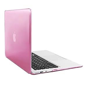 kwmobile Elegantes und leichtes 2-Part Crystal Case für Apple MacBook Air 13'' in Pink