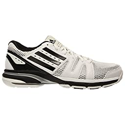 Adidas Volley Light Womens Volleyball Shoe 8 White-Black-Grey