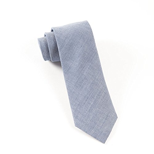 100% Cotton Warm Blue Classic Chambray 3