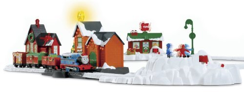 Deluxe Holiday Trackmaster Set - Thomas the Train: TrackMaster Thomas' Christmas Delivery