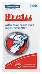 Kimberly-Clark Wypall 91054 Orange/Citrus Fragrance Waterless Hand Wipe, 12\