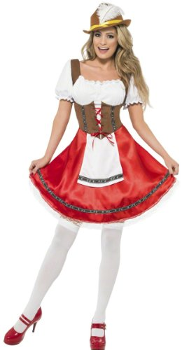 Smiffys Sexy Bavarian Beer Wench Oktoberfest Halloween Costume
