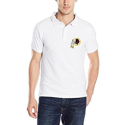 Washington Redskins Logo 2016 Men's Cool Polo Shirts Collared Shirt