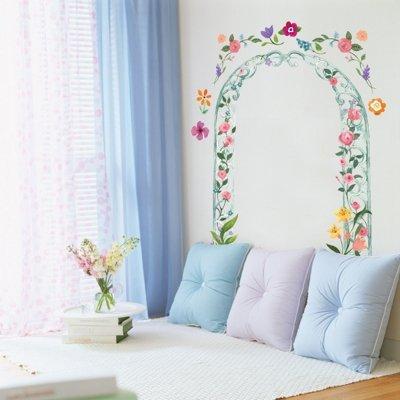 Imagen 3 de Grandes Belle Princess - Muro de los niños pegatina Inicio Art Deco Pegatinas de pared
