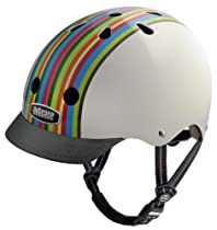 Nutcase Rainbow Stripe Street Helmet, Medium