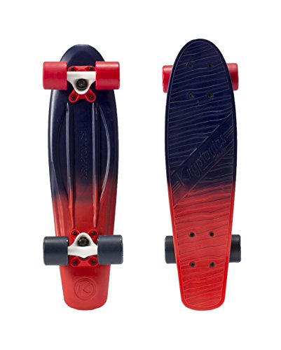 Kryptonics Skateboard 22.5 pollici Classic Torpedo pattinaggio, Outdoor Board, Sport & tempo libero - Shade Blue