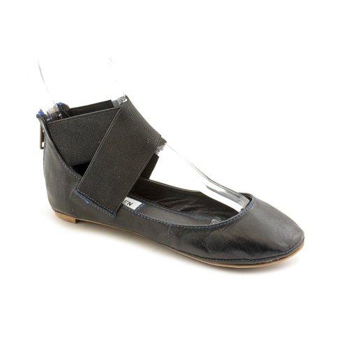 Steve Madden Skoolgrl Flats Shoes Black Womens