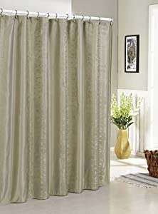 Duck River Textiles Hoyt Jacquard Shower Curtain Taupe Home Kitchen
