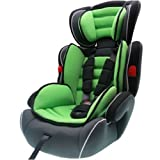 NEW BABY CHILD 3IN1 3 IN 1 CONVERTIBLE CAR SAFETY BOOSTER SEAT FOR GROUP 1/2/3 - 9 Months- 12 years 36kg GREEN