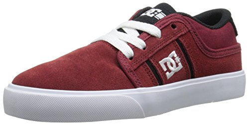 DC Rob Dyrdek Grand Youth Shoes Skate Shoe (Little Kid/Big Kid), Syrah, 5.5 M US Big Kid
