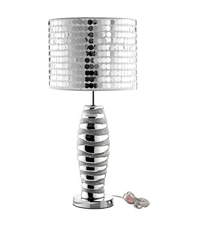 Modway Sparkle Table Lamp, Silver