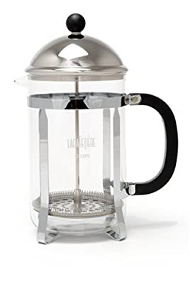 La Cafetiere Optima 12-Cup Cafetiere Coffee Maker French Press by Creative Tops