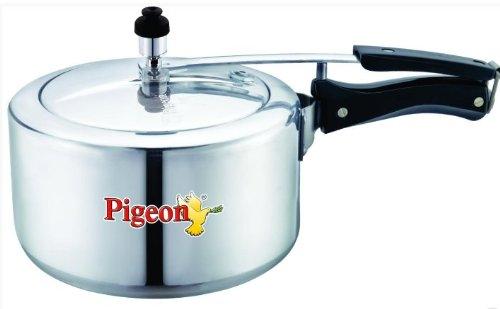Pigeon Deluxe Aluminium Pressure Cooker, 5 Litres