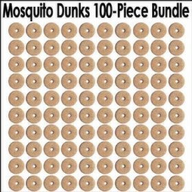 Summit mosquito dunks 5 packs of 20 dunks for Mosquito dunks amazon