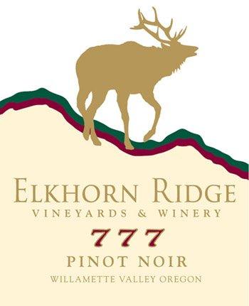 "2011 Elkhorn Ridge Vineyards & Winery ""777"" Pinot Noir 750 Ml"