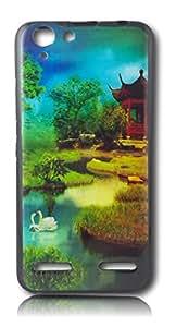 BlueArmor Sparkling Soft Back Cover Case For Lenovo Vibe K5 Design 1