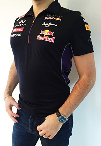 POLO PEPE JEANS - OFFICIAL TEAM RED BULL - UOMO - BLU - L