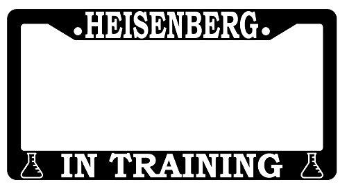 Heisenberg In Training High Quality Black Plastic License Plate Frame Breaking Bad 869 (Heisenberg License Plate Frame compare prices)