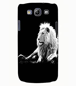 ColourCraft Lion Look Design Back Case Cover for SAMSUNG GALAXY S3 NEO I9300I
