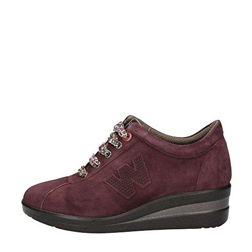 Melluso R0806 Sneakers Donna Camoscio Bordeaux Bordeaux 37