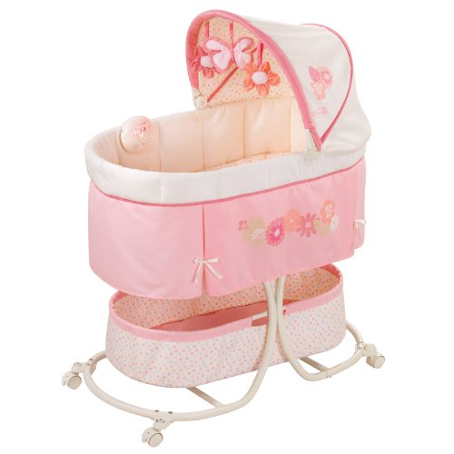 Cheapest Price! Summer Infant Soothe & Sleep Bassinet with Motion, Lila