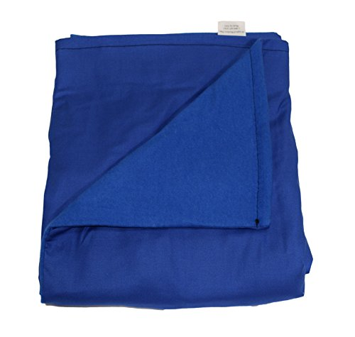 wb-small-weighted-blanket-blue-cotton-flannel-48l-x-30w-7-lbs-for-60-lb-person