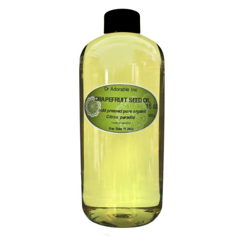 Grapefruit Seed Oil Organic Cold Pressed 100% Pure 16 Oz / 1 Pint цены онлайн