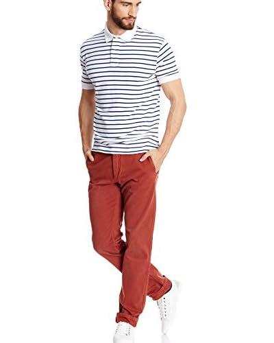 Dockers® Pantalone Chino New Alpha Khaki - Slim Tapered [Granato]