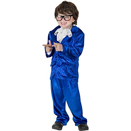 Funfill Boys Austin Powers Halloween Costume