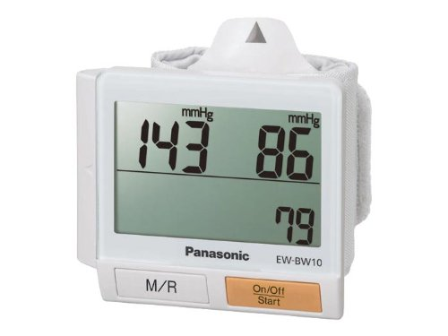 Panasonic EW-BW10W Wrist Blood Pressure Monitor, White
