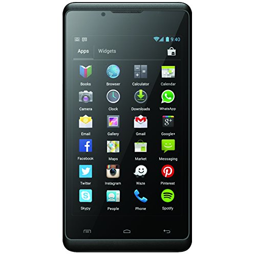 "Verykool S401 Aura 3G Gsm Dual Sim 4.0"" Lcd Android 4.2 Dual-Core 5Mp 1.0Ghz Dual Core Wifi Bluetooth 4.0 Usb (Black)"