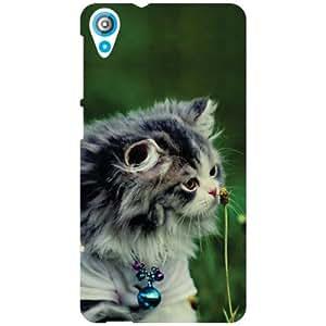 HTC Desire 820Q Back Cover - Cute Cat Designer Cases