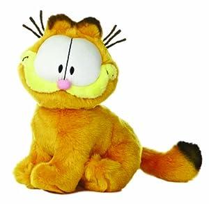 "Amazon.com: Aurora World Garfield Sitting 8.5"" Plush: Toys & Games"