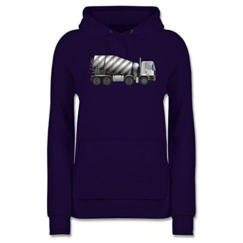 andere-fahrzeuge-betonmischer-fahrmischer-xl-lila-jh001f-damen-premium-kapuzenpullover-hoodie