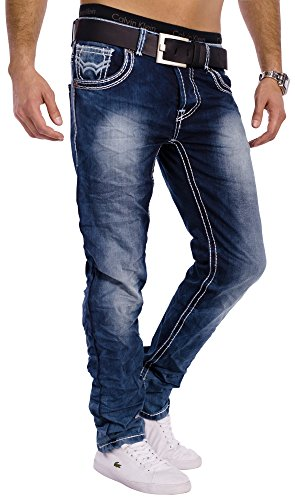Herren Vintage Jeans Denim Revolution ID1301 Stretch Slim Fit (Gerades Bein), Größe Jeans / Hosen NEU:W32