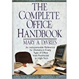 img - for The Complete Office Handbook book / textbook / text book