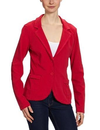 tom tailor damen sweatshirt 25144690070 sweat blazer gr 36 s rot. Black Bedroom Furniture Sets. Home Design Ideas