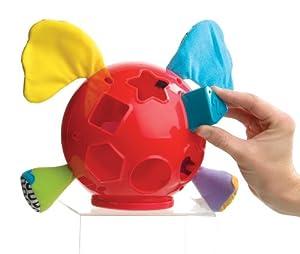 Playgro 720111 - Elefante con juego de formas, multicolor de Playgro