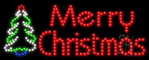 Christmas Lights Merry Christmas Merry Christmas Lighted Sign