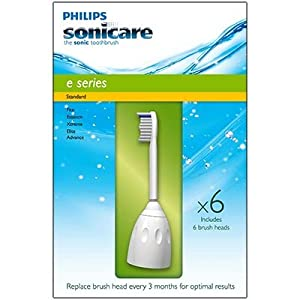 Philips Sonicare E Series Standard Brush Heads - 6 Pack