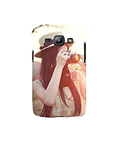 Aart Designer Luxurious Back Covers for Samsung J1 2016 + Flexible Portable Thumb OK Stand by Aart Store.