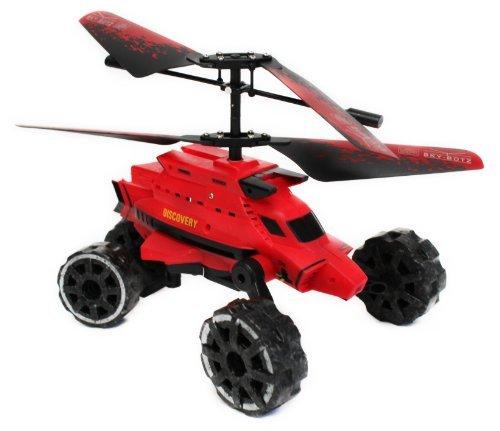 Sky-Botz Aerocar Hover Assault - Red