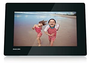 """Philips SPF4610 Cadre Photo Numérique 10,2"""" 1024 x 600 pixels 128 Mo Noir"""