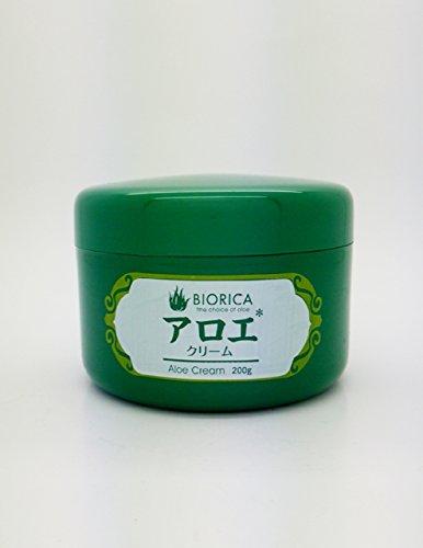 BIORICA アロエクリームスキンケア200g ヒアルロン酸配合
