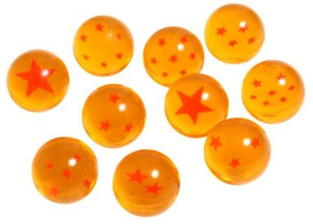 スーパーボール スター【オレンジ】(27mm) 100個入